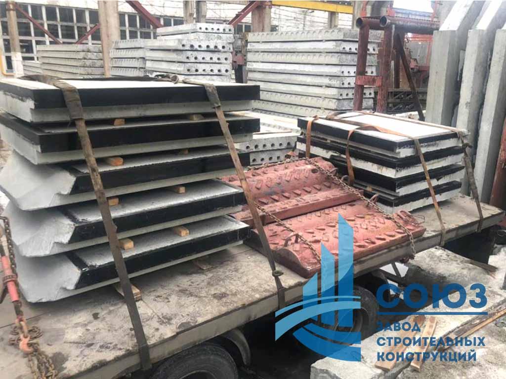 Плиты для железнодорожных переездов по серии 501-01-6.89 НПЖ и ТПР 509-032.90